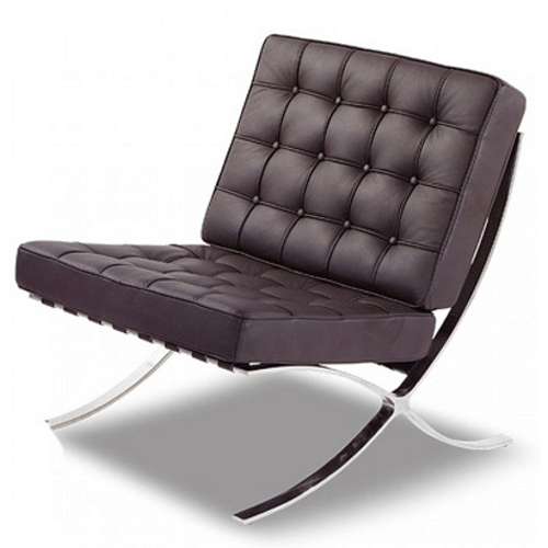 Modern Furniture Chairs: Barcelona Pavilion Of Mies Van Der Rohe. Less Is More